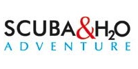 Scuba and H2O Adventure Logo 2x1