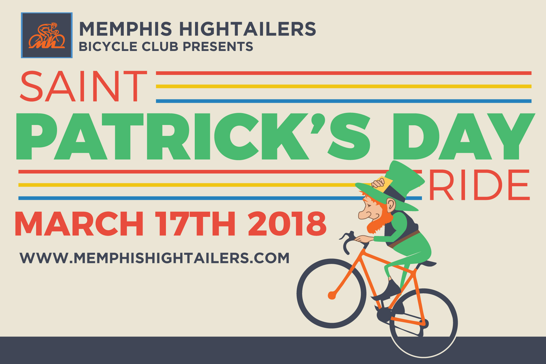 St Patricks Day Ride - Events - Memphis Hightailers Bicycle Club