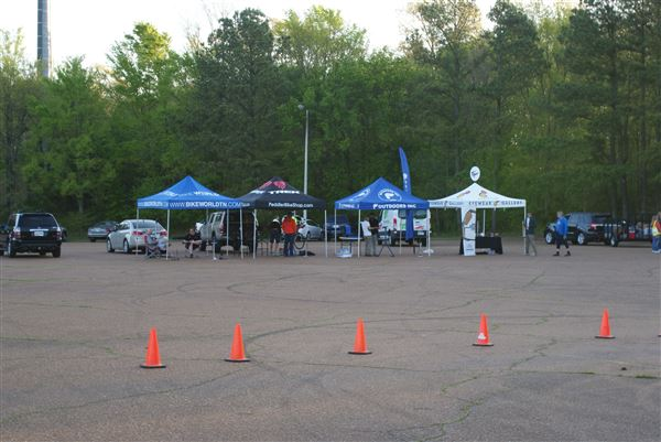 Various shots of cyclists and volunteers having fun at the Finney Ride