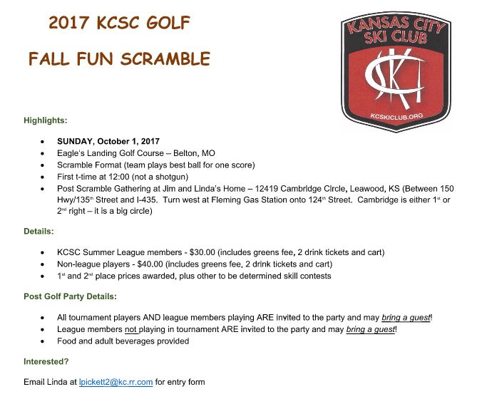 Golf Scramble 17