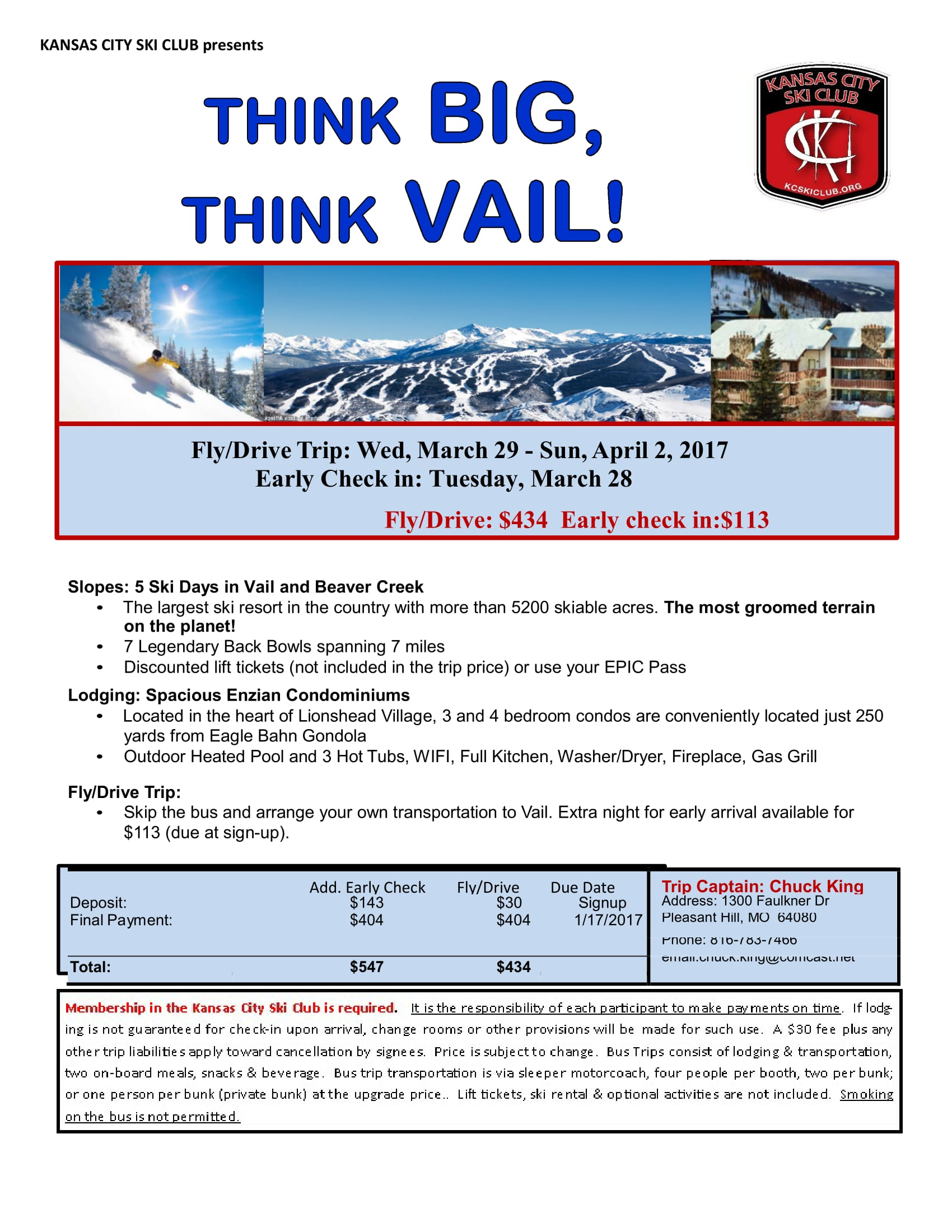 vail updated