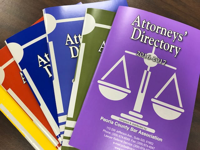 Attorneys' Directory Cover Page