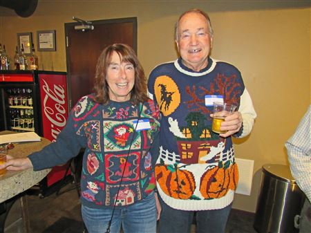 Pics of the Ugly Sweater Contest