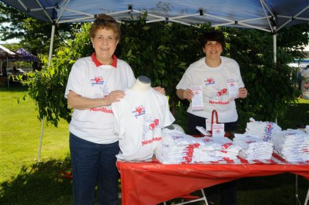 Exchange Sells Tee Shirts to support 4th of July Events