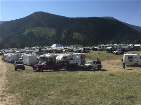 All-4-Fun main camp area