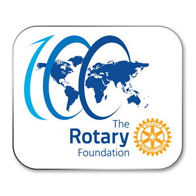 Rotary Foundation 100 logo