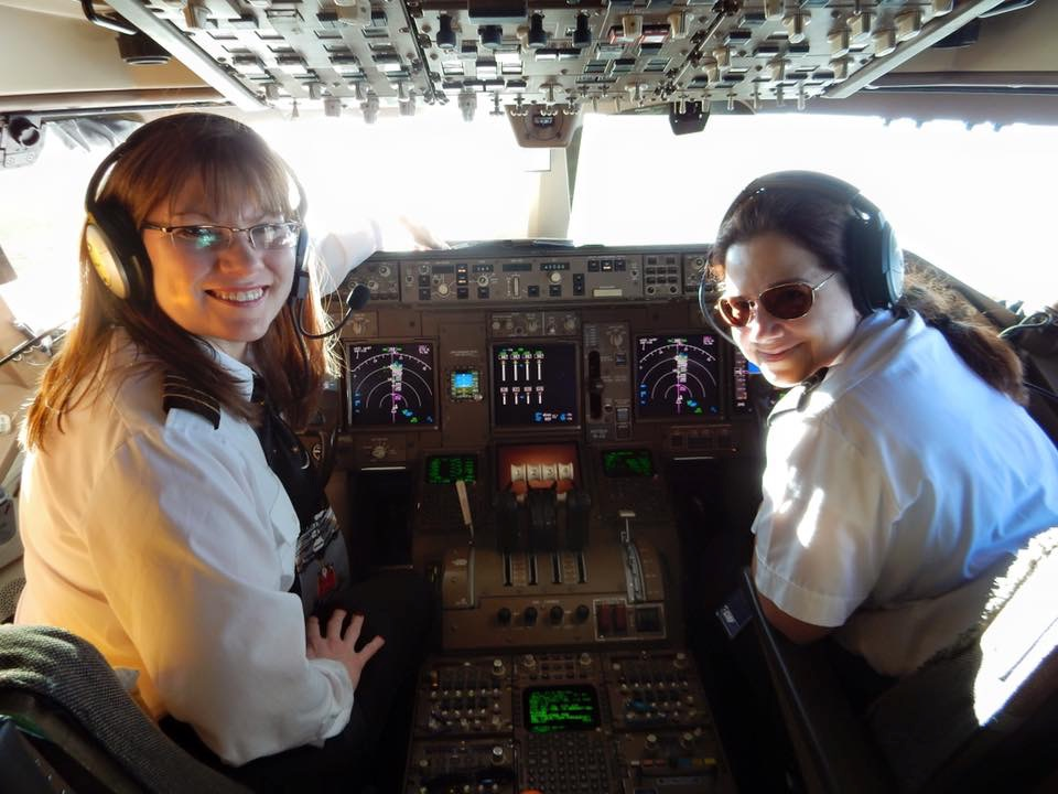 Women in the cockpit