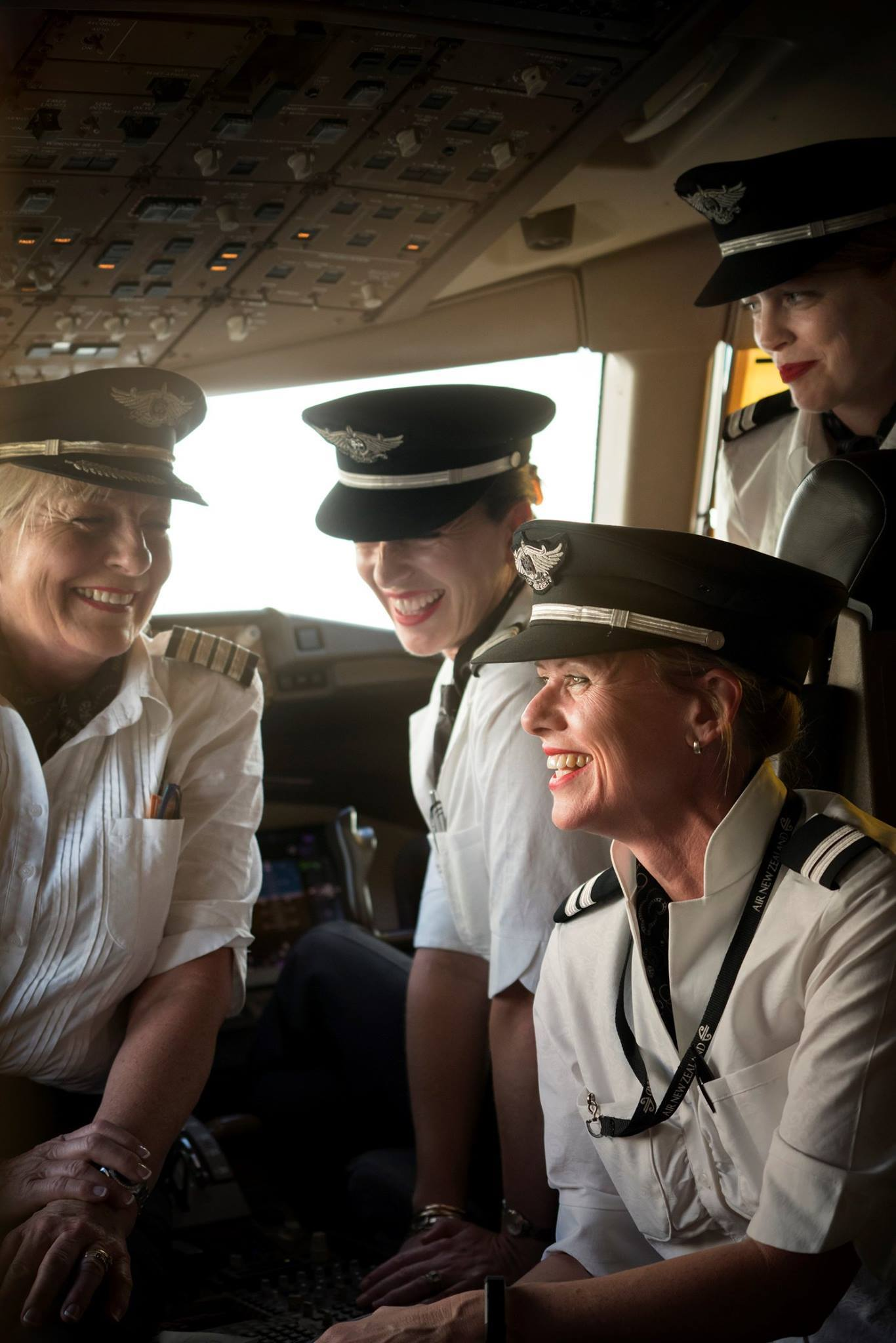 Air New Zealand women pilots