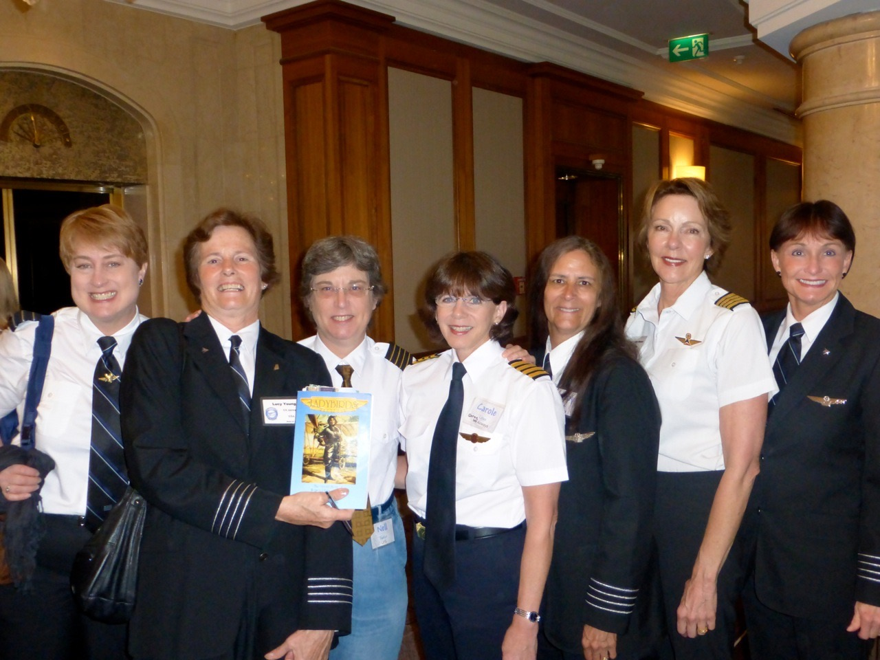 Lady bird pilots