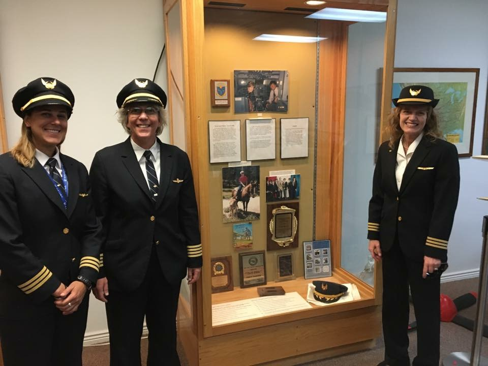 UAL pilots Emily Warner Museum of the Rockies