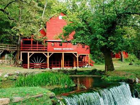 Hodgson Grist Mill, Built in 1882, Powered by Turbine, Non-Operational