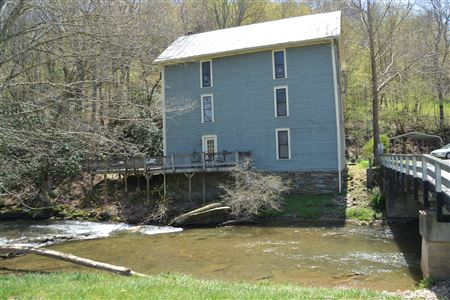 Helton Mill, Built in 1855, Non-Operational