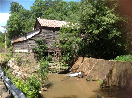 Howard's Creek Mill, Built in 1897, Power by Electricity, Non-Operational