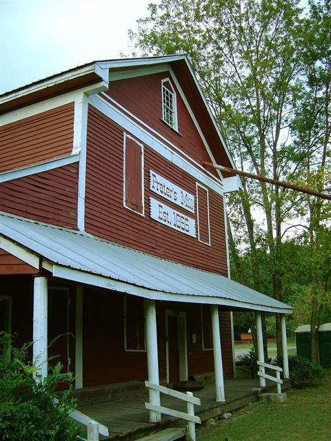 Prater's Grist Mill, Dalton GA, Built in 1855, Powered by Turbine