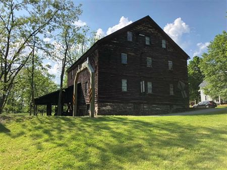 Jackson's Mill, Combination grist mill and saw mill, Non-Operational