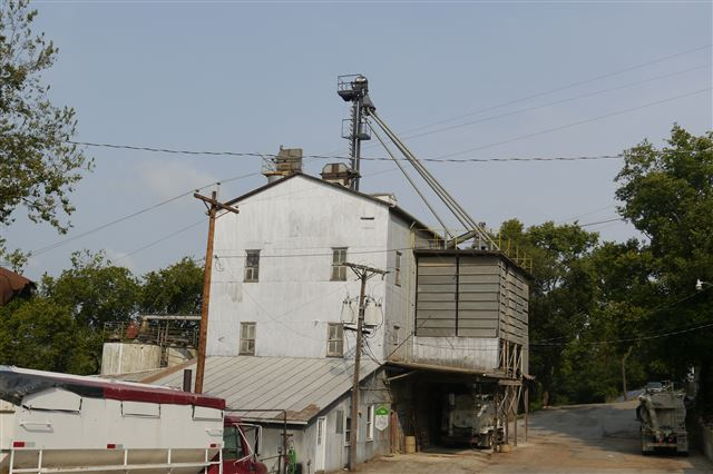 Westphalia Grist Mill, Operational Feed Mill, Originally powered by Steam, currently powered by electricity