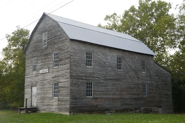 Dick's Roller Mill, Grist Mill, Powered by Steam, Non-Operational
