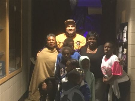 Iota Chapter and 7th District Chicago Police gave out candy and treats and built a Haunted House to create a safe environment for the kids to trick or treat