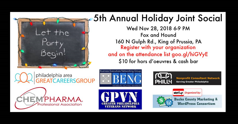 5th Annual Joint Holiday Social