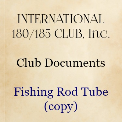 Fishing Rod Tube (copy)