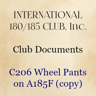 C206 Wheel Pants on A185F (copy)