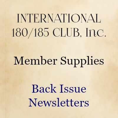 Back Issue Newsletter