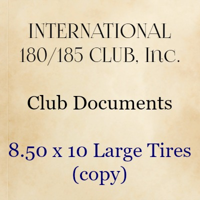 8.50 x 10 Large Tires (copy)
