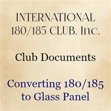 Converting 180/185 to glass panel - click to view details