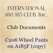 C206 Wheel Pants on A185F (copy) - click to view details
