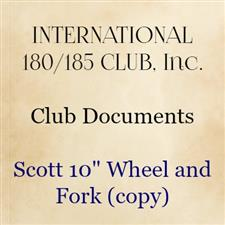 "Scott 10"" Wheel and Fork (copy) - click to view details"