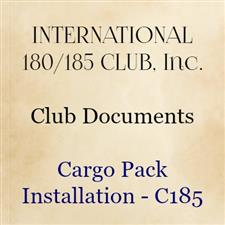 Cargo Pack Installation—C185 - click to view details