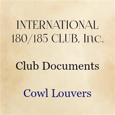 Cowl Louvers (Owned by Club) - click to view details