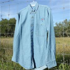 Denim Shirt, long sleeve