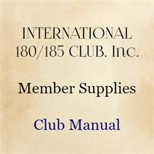 Club Manual - click to view details