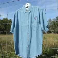 Denim Shirt, short sleeve