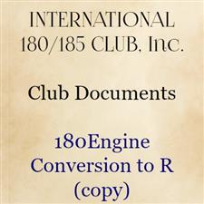 180 Engine Conversion to R (copy) - click to view details
