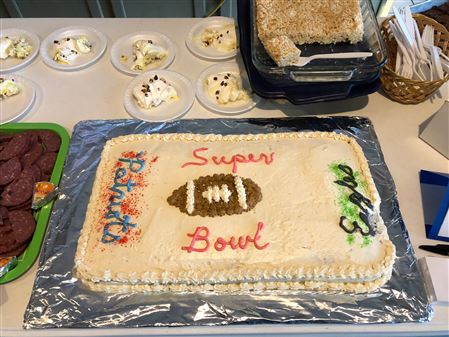 Pictures from the Soup-er Bowl Party.  THis was a ZFund Raiser for the Annual Military Appreciation Cruise.