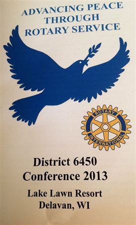 District 6450 Conference- Lake Lawn Resort