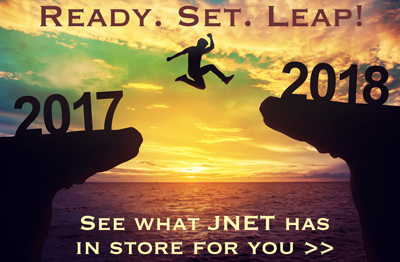 Get Ready for an Amazing 2018 with JNET! Click to view January Events!