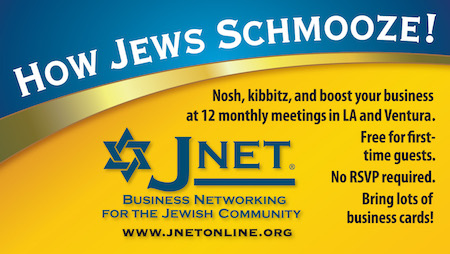 JNET in Jewish Journal ad