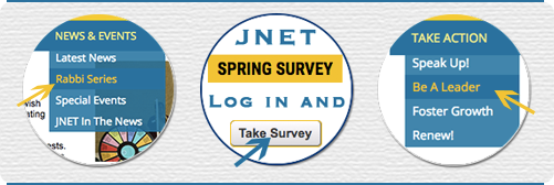JNET Website Features