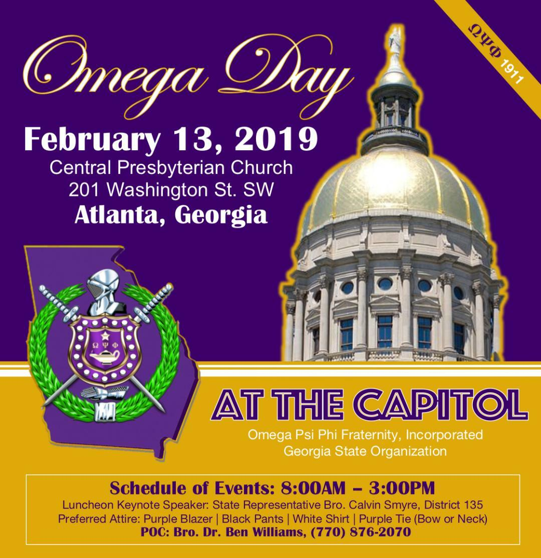2019 Omega Day at The Capitol