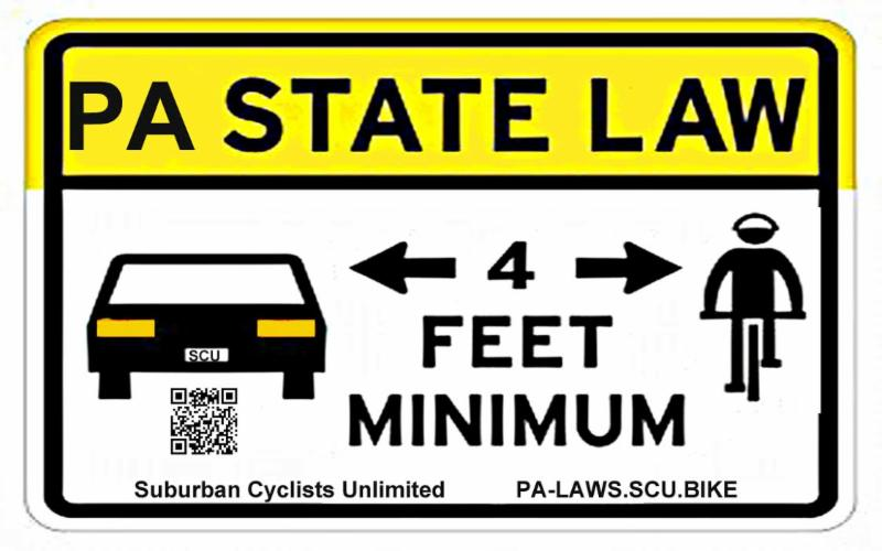 Four Foot Law Sign