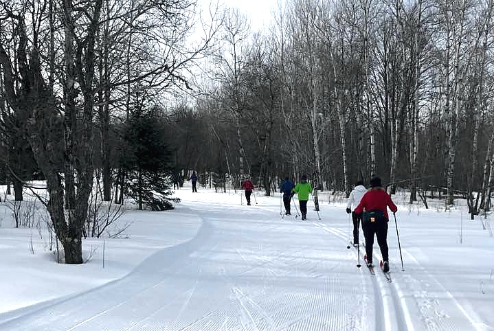 2017 Upper Michigan Cross-Country Ski Trip