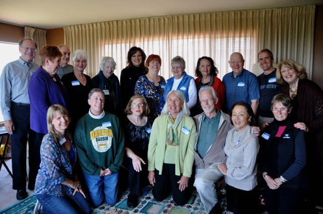 Sequoia Village Volunteers and Members, April 2015