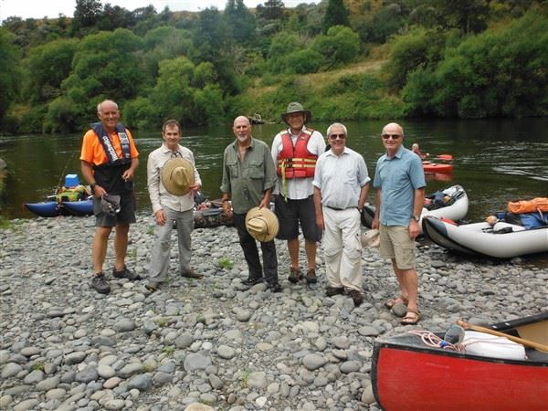 Steve Reteubuch and Bob Schneider paddled a few rivers in New Zealand, mostle the Whanganui River