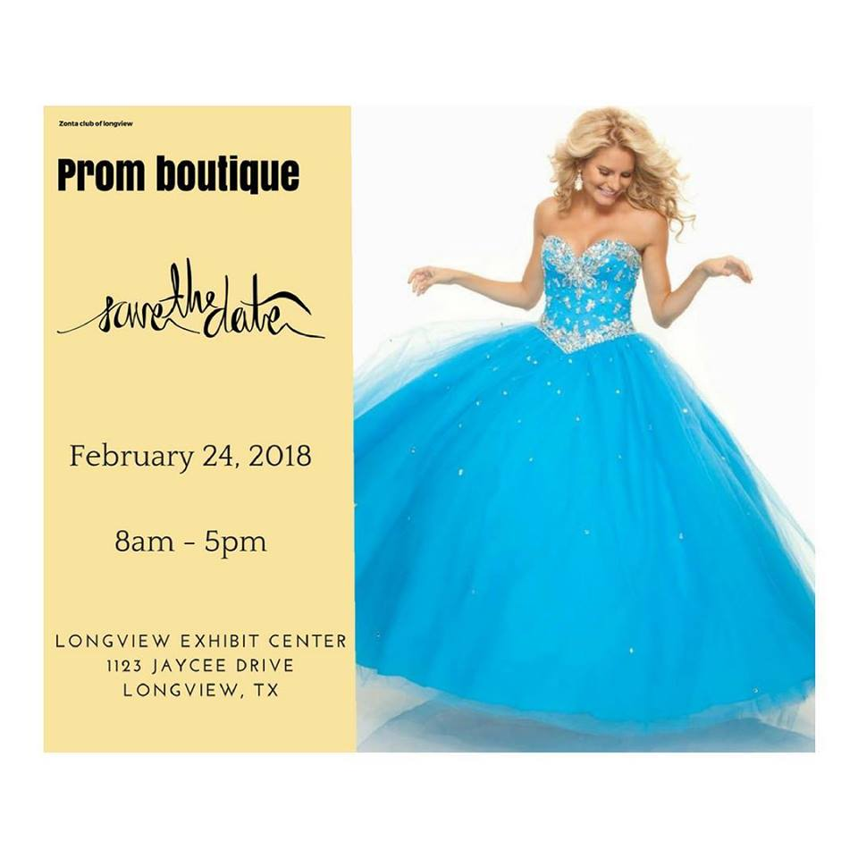 2018 Prom Boutique Save the Date
