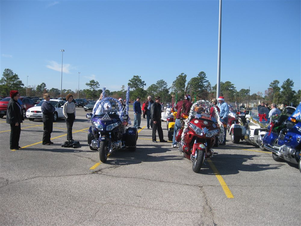 Northwest Houston Foster Children's Toy Run - December, 2010