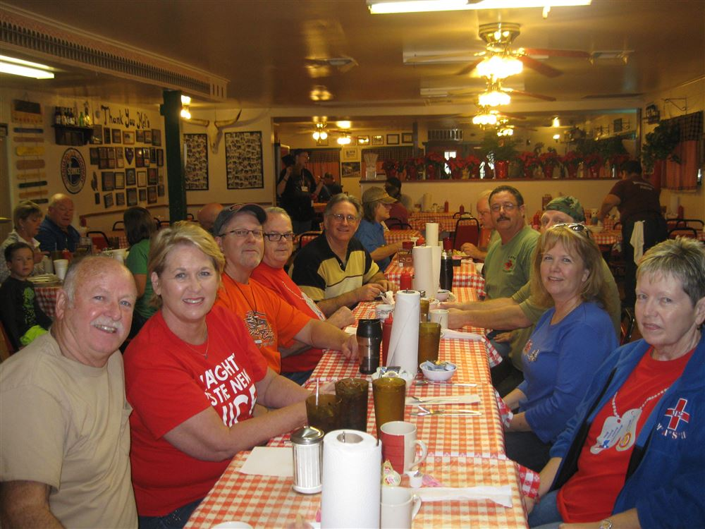 Breakfast at Mel's Diner and ride afterword
