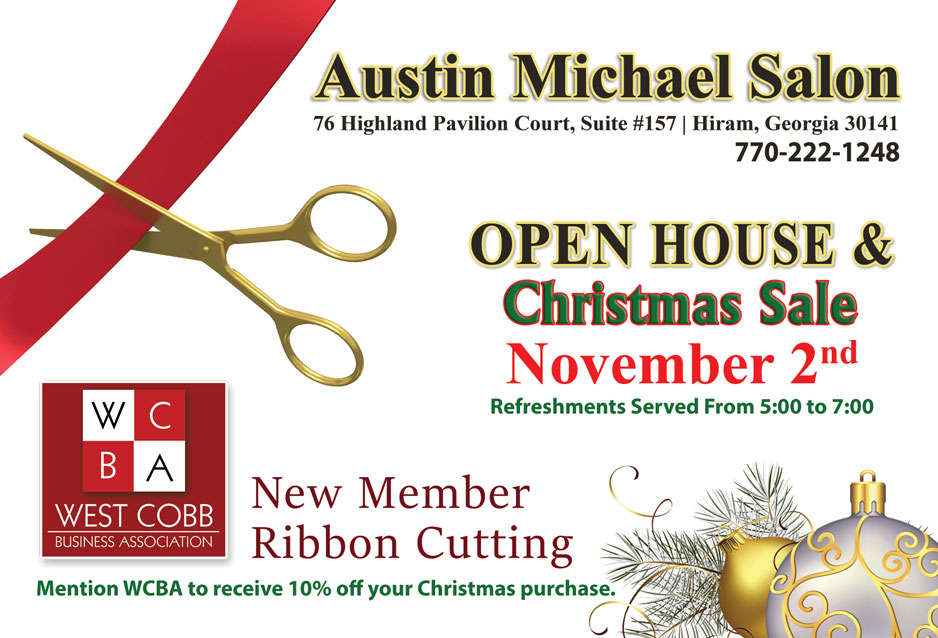 Austin Michael Ribbon Cutting